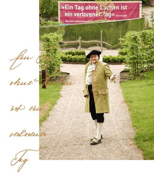 Kulturvermittlung auf Schloss Kreisbach