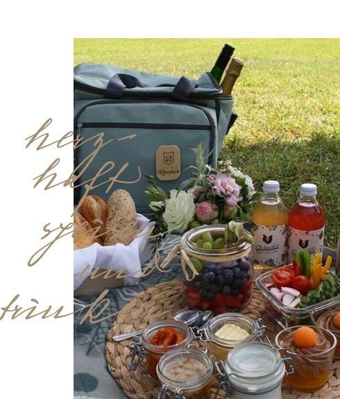 Picknick im Schlosspark von Kreisbach
