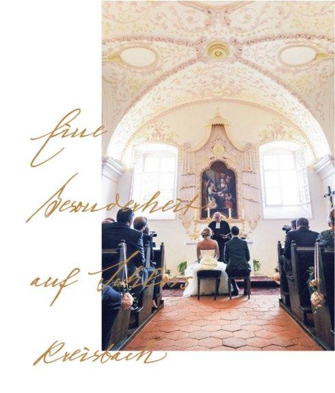 Bezaubernder Ort für Hochzeit, Taufe & sakrale Feste aller Art.