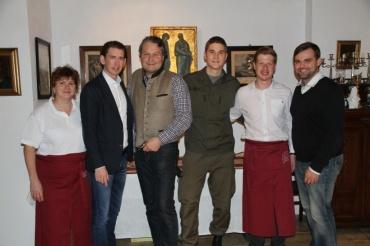 Besuch von Sebastian Kurz-
