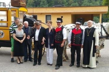 Schmankerlparcours mit historischer k.k. Postkutsche mit Meet and greet ... Andreas Steppan-