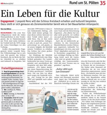 November 2017 | NÖN Lilienfeld, Pielachtal, Purkersdorf und St. Pölten-