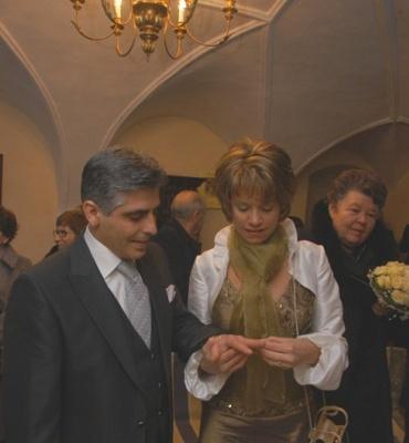 Sandra & Antonio am 15. Dezember 2007-