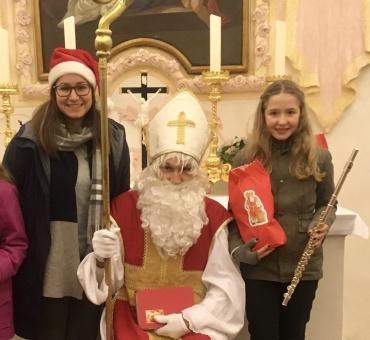 6. Dezember 2019 Nikolaus kommt in die Annakapelle